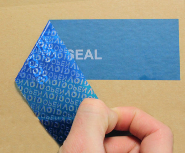 Container Void Label Seal Leghorngroup