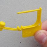 Padlock seals plastic
