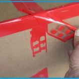 secure tape in cornice 2