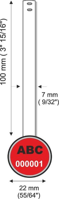 [cml_media_alt id='6477']STRAPSEAL DM mm e pollici - Metal strap security seal[/cml_media_alt]