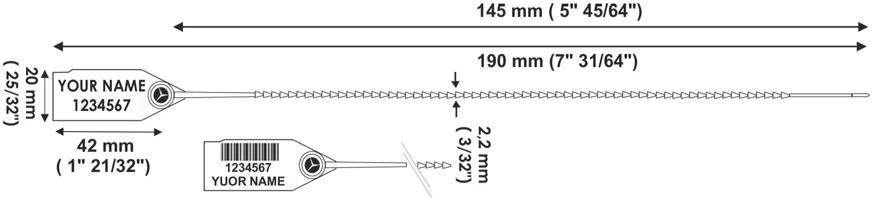 [cml_media_alt id='5833']TWIGGYSEAL 190 mm sigillo plastica regolabile - disegno tecnico[/cml_media_alt]