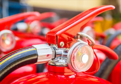 FIRE EXTINGUISHERS AND SAFETY