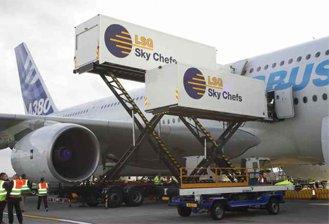 sigilli per catering aereo – trasporti aerei – AEREOPORTI