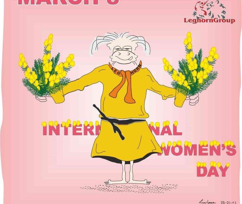 MARCH 8, International Women's Day, Livorno