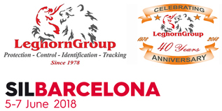 Leghorngroup participates in SIL 2018, international logistics and maintenance salon, barcelona, june 5-7, 2018
