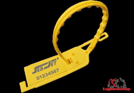 adjustable plastic security seal longseal 6×420 mm
