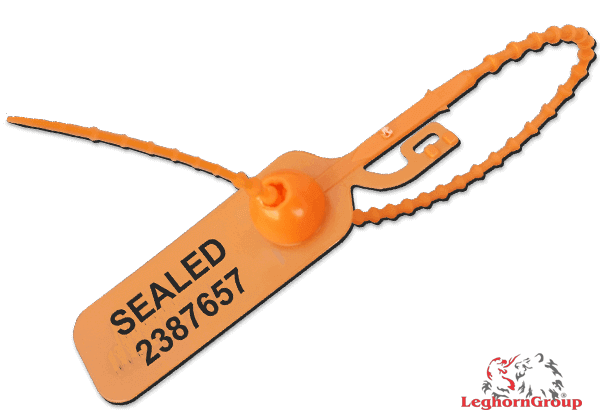 Pull-tight plastic seals