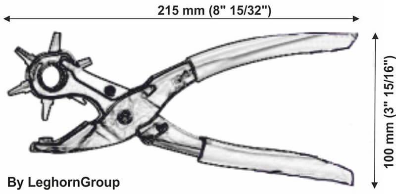 alfeoseal press technical drawing