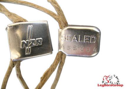 aluminium self locking seal crimpseal