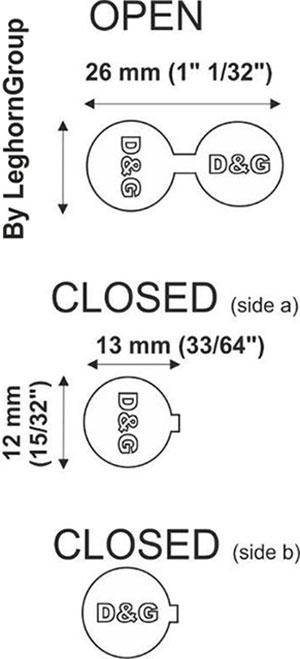 aluminuim seal fashionseal technical drawing