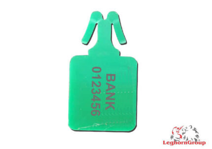 anchor shaped plastic seals zip stop standard