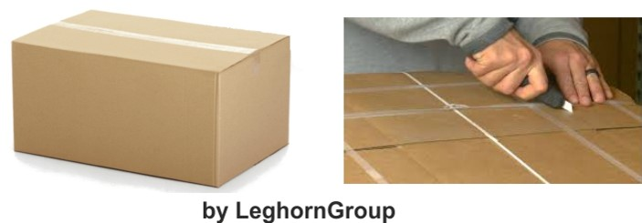 bag for neck protection cardboard boxes lyon