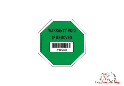 bar code security labels