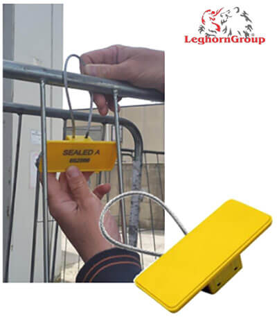 cable seal rfid roll container how to use