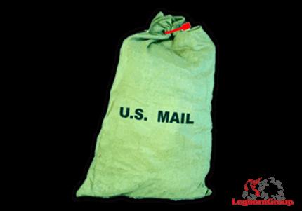 canvas postal sack matera