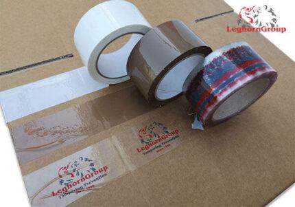custom security tape coloured