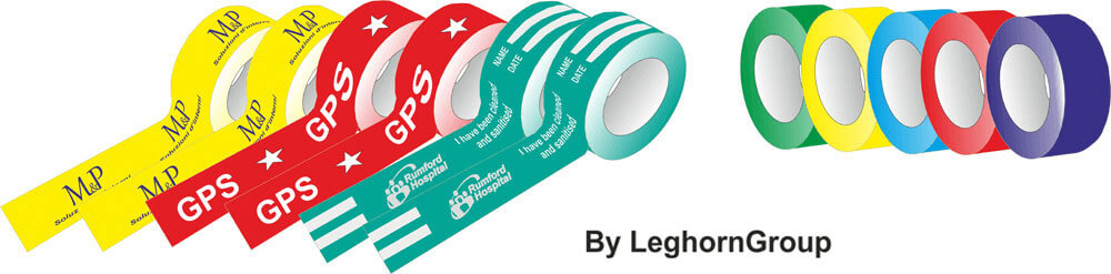 custom security tape colours customizations