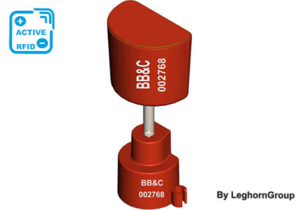 electronic bolt security seal rfid mentorseal active