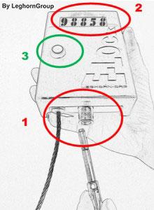 electronic reusable security seal elock standard