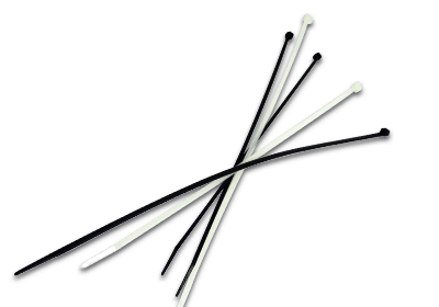 CABLE TIES BLACK AND WHITE