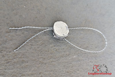 galvanized steel sealing wire examples of use