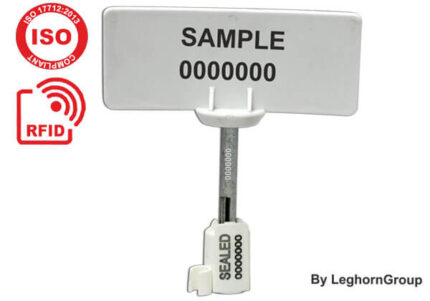 high security bolt seal rfid neptune seal