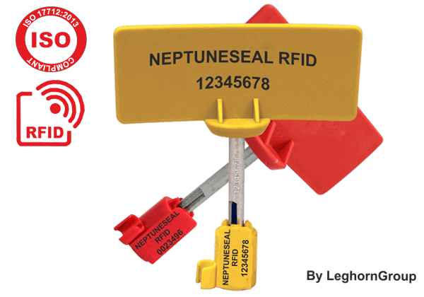 High Security UHF RFID Bolt Seal Neptuneseal
