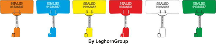 high security bolt seal rfid neptuneseal colors customizations
