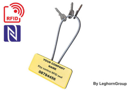 high security cable keyholder rfid