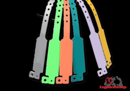 identification vinyl wristbands