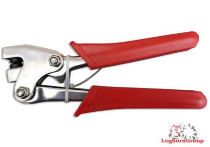 lead seal pliers press