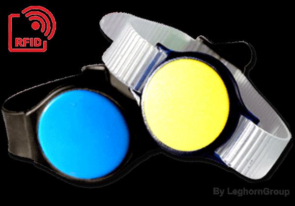 LF/HF/UHF Wristband Watch