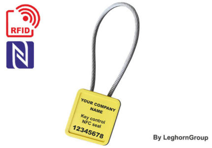 metal adjustable cable lock seal minicable rfid