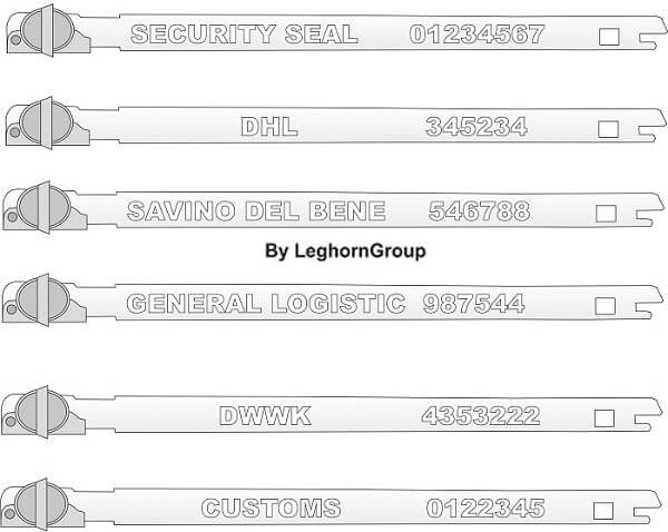 metal strap seal balloonseal colors customizations