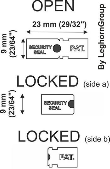 metallic seals autoseal technical drawing