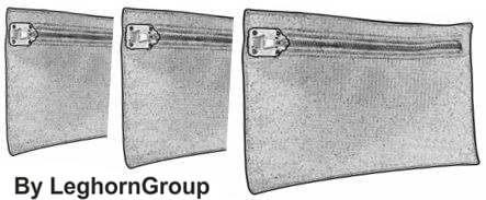 night deposit security bag madrid technical drawing