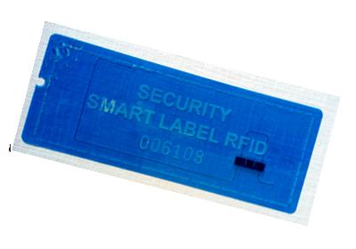NO RESIDUE UHF RFID VOID TAMPER EVIDENT LABEL