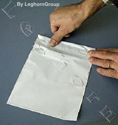 not numbered security envelopes how to use