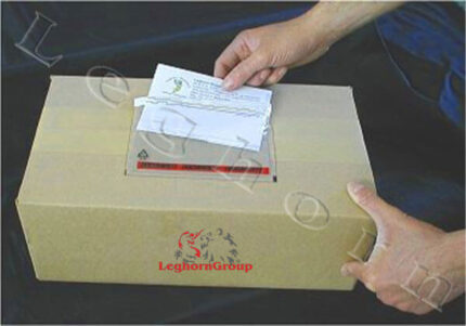 packing list security envelopes