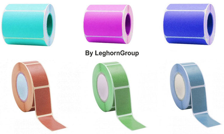 personalized adhesive labels and bar code roll