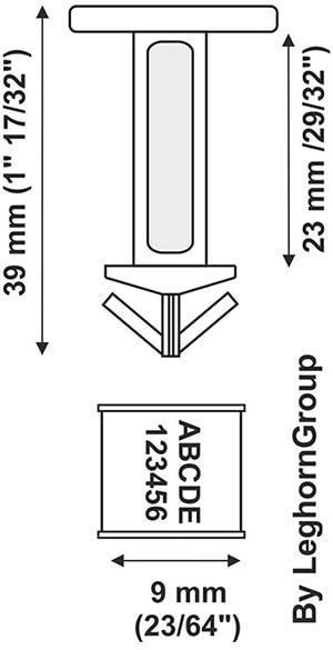plastic seal drums drumseal technical drawing
