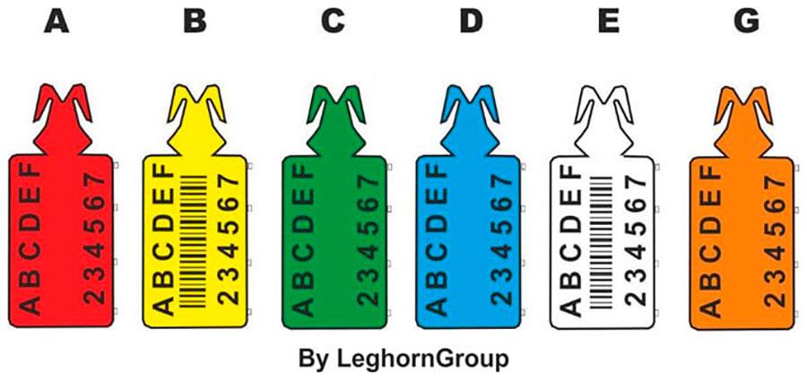 plastic seals zip stop long colours customizations