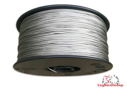 plastified stainless steel cable
