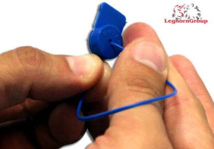 polypropylene seal water gas meters alcyoneseal 1×161 mm