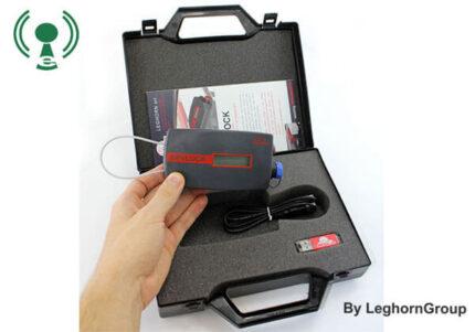 reusable electronic security seal spylock