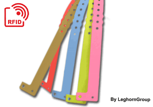 RFID Plastic Wristbands