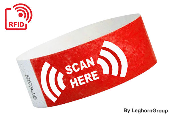 RFID Tyvek Wristbands