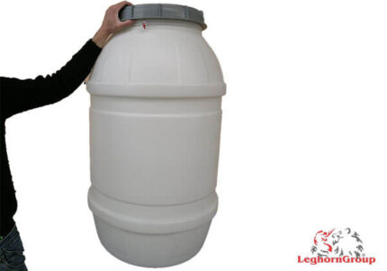 sealable plastic drums