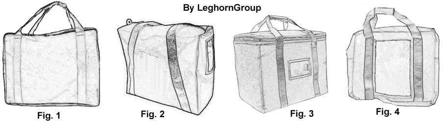 security bag helsinki technical drawing