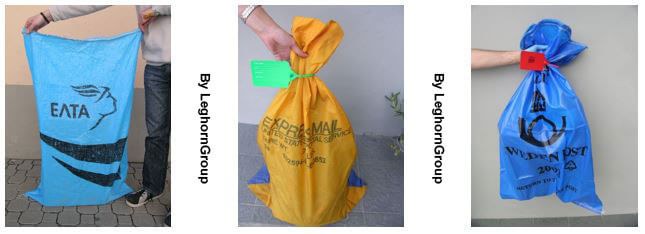 security postal mail sack with seals